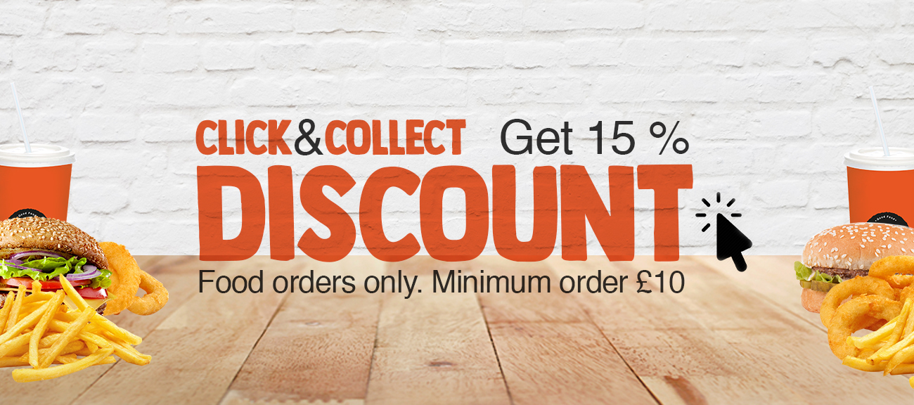 Click and Collect 15% Discount Promotion